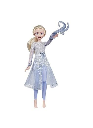 Hasbro Hasbro E8569 +3 Yaş Disney Frozen 2 Büyülü Keşif Elsa Oyuncak Bebek Renkli